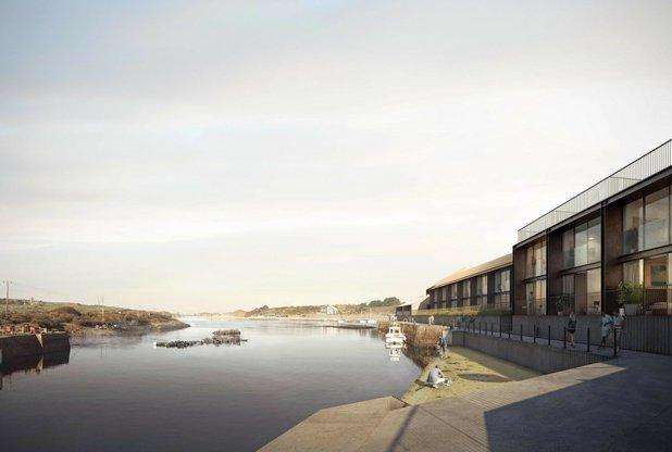 Designs that will change a Cornwall town's waterfront forever revealed | Hayle